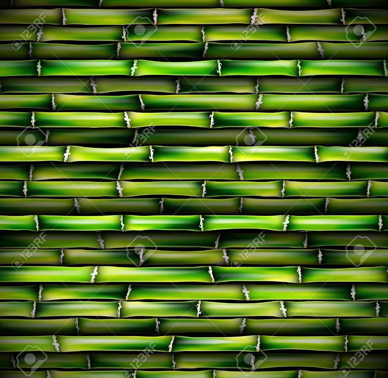 Background of bamboo Stock Vector - 16656668