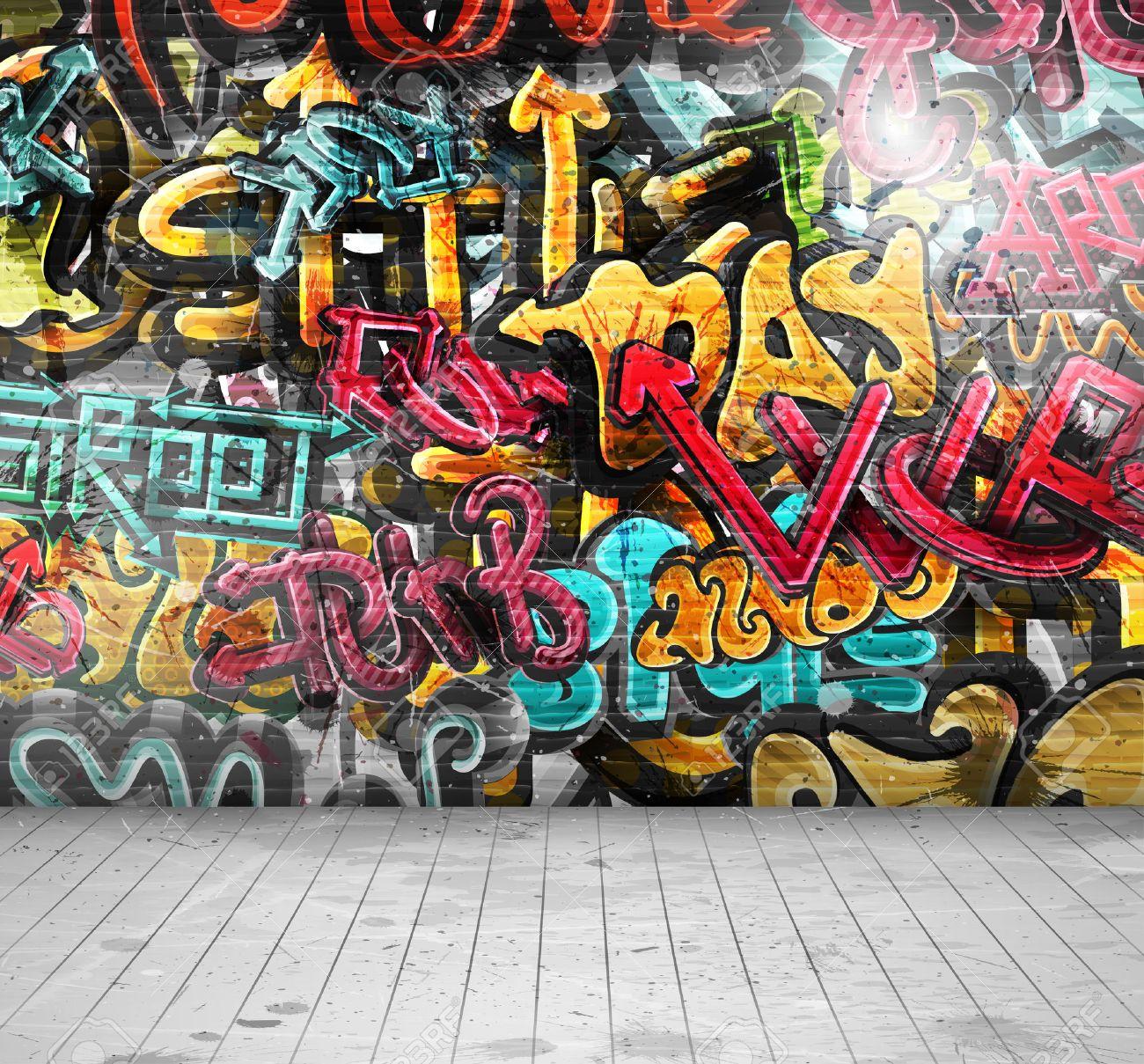 Graffiti wall vector free - Graffiti Wall Graffiti On Wall Eps 10