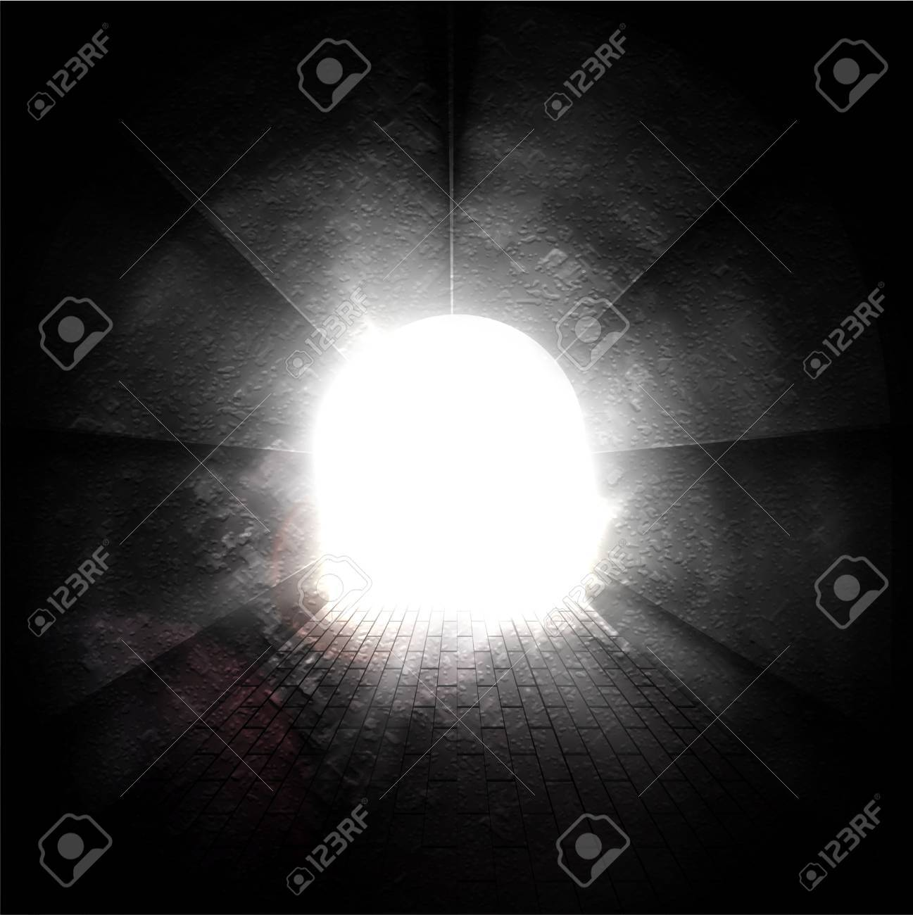Light at end of tunnel - 23867149