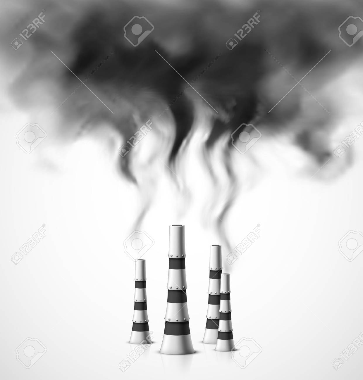 Pollution of environment Stock Vector - 23867150