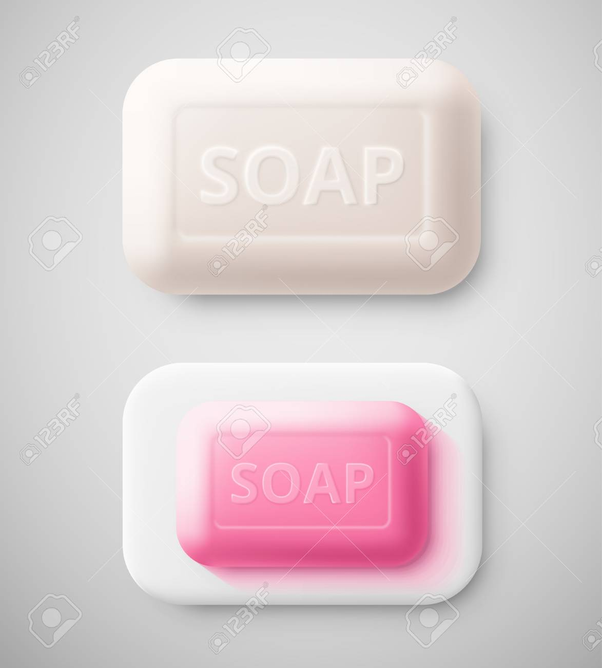 Isolated hygienic soap, eps 10 Stock Vector - 26630080