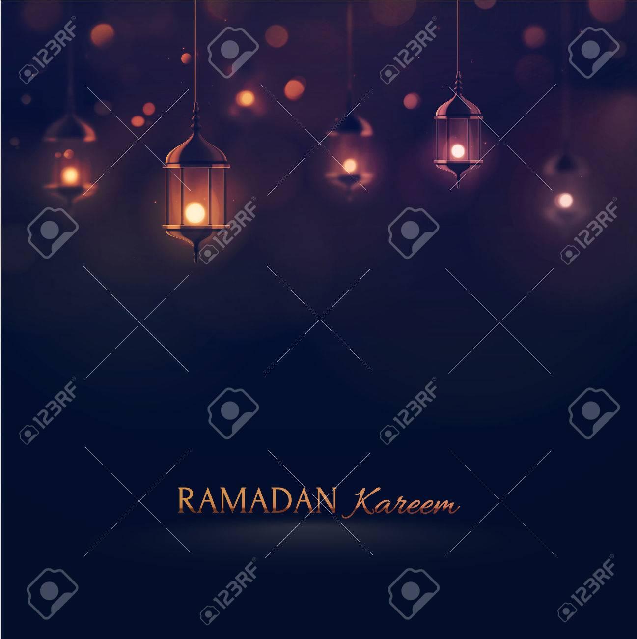 Ramadan Kareem, greeting background Standard-Bild - 40881012