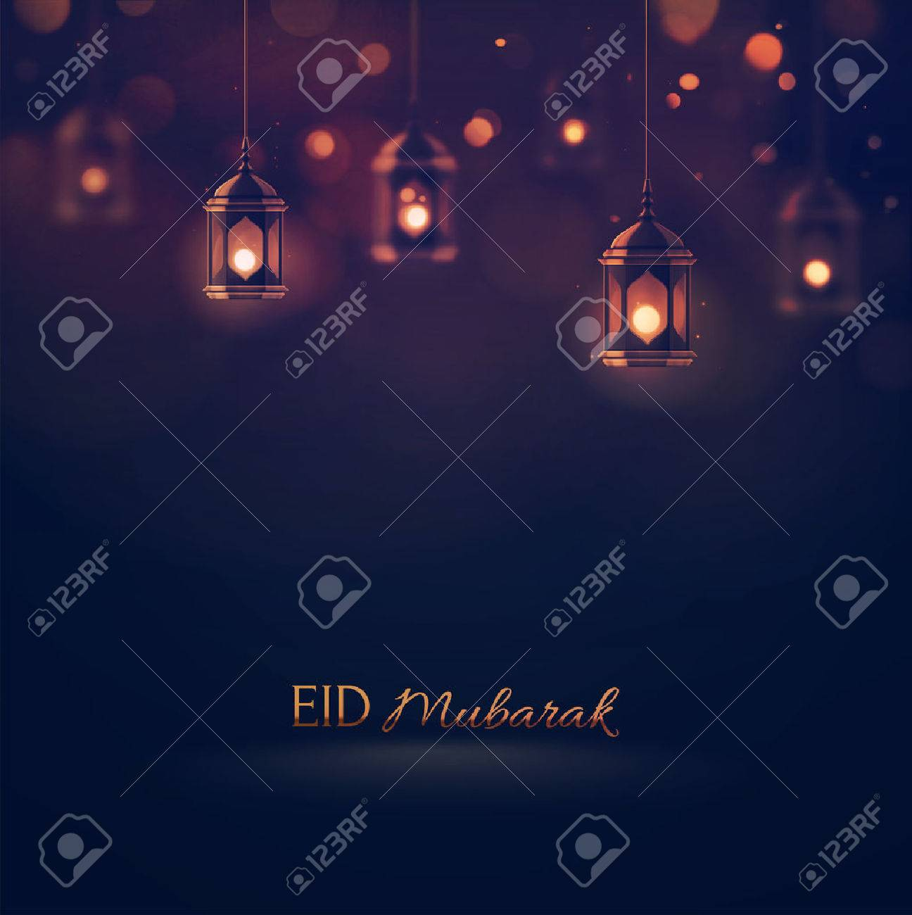 Eid Mubarak, greeting background, Standard-Bild - 41579333