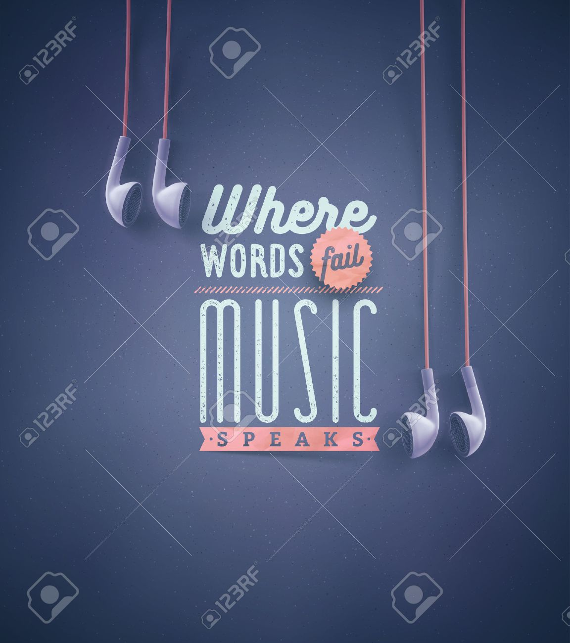 Stock illustration 3d red text quot yes quot stock illustration royalty - Template For Music Quotes Eps 10 Stock Vector 43327855