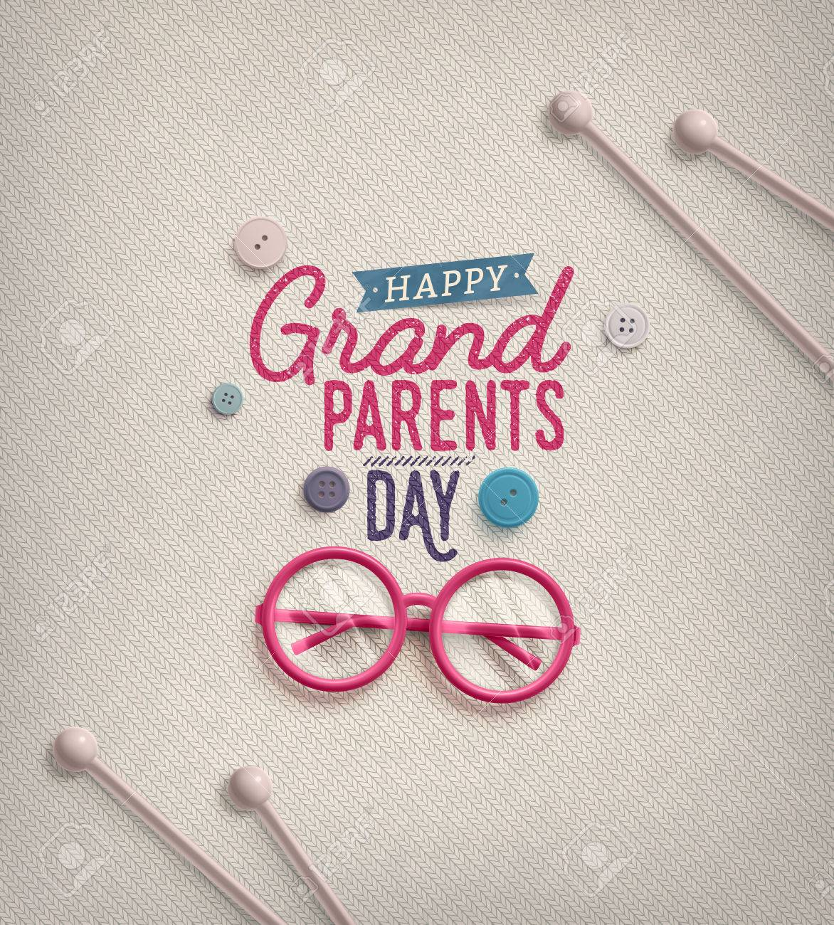 Grandparents day greeting card royalty free cliparts vectors and grandparents day greeting card stock vector 43876930 m4hsunfo