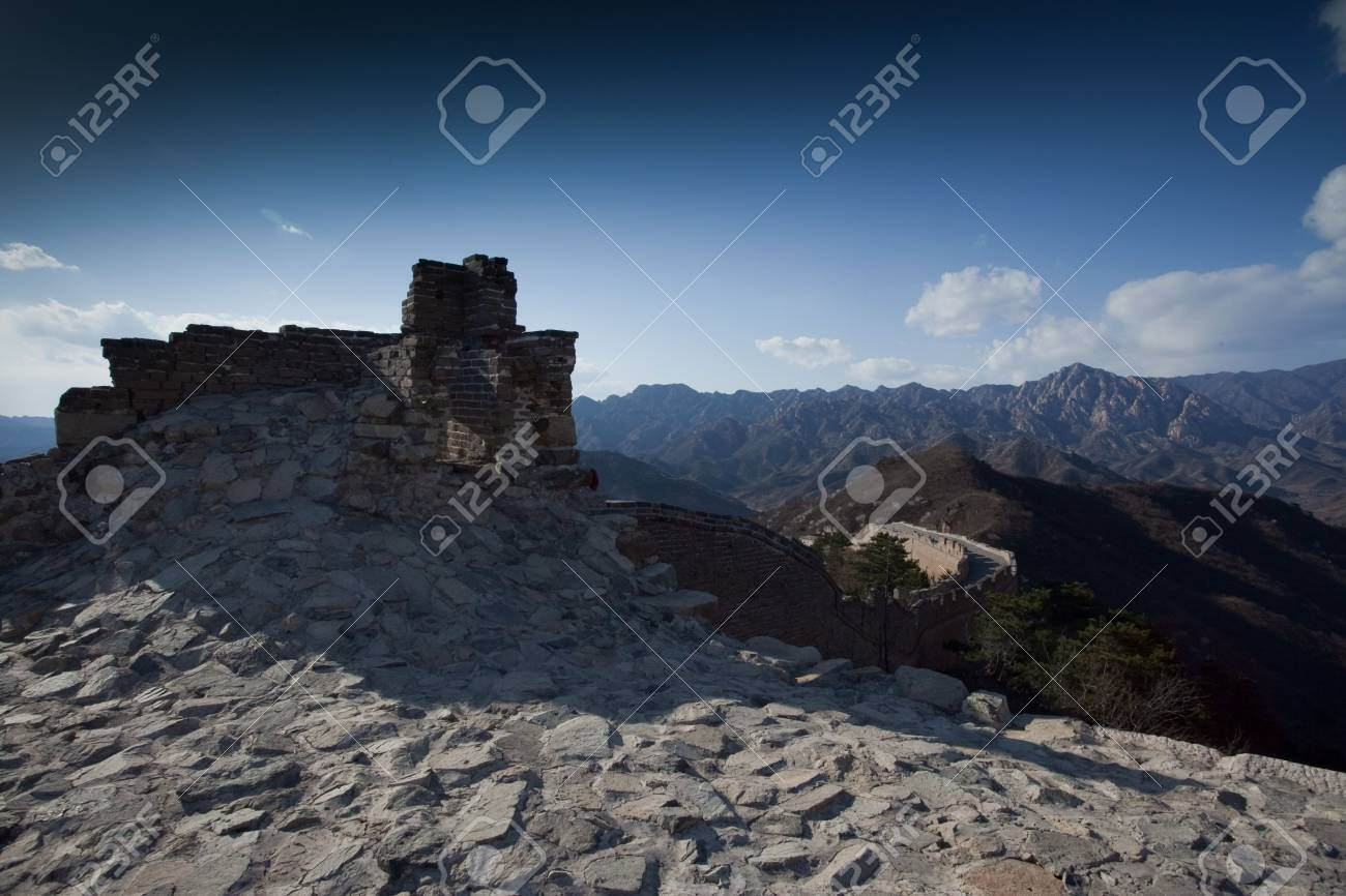 The Great Wall of China Stock Photo - 4579488