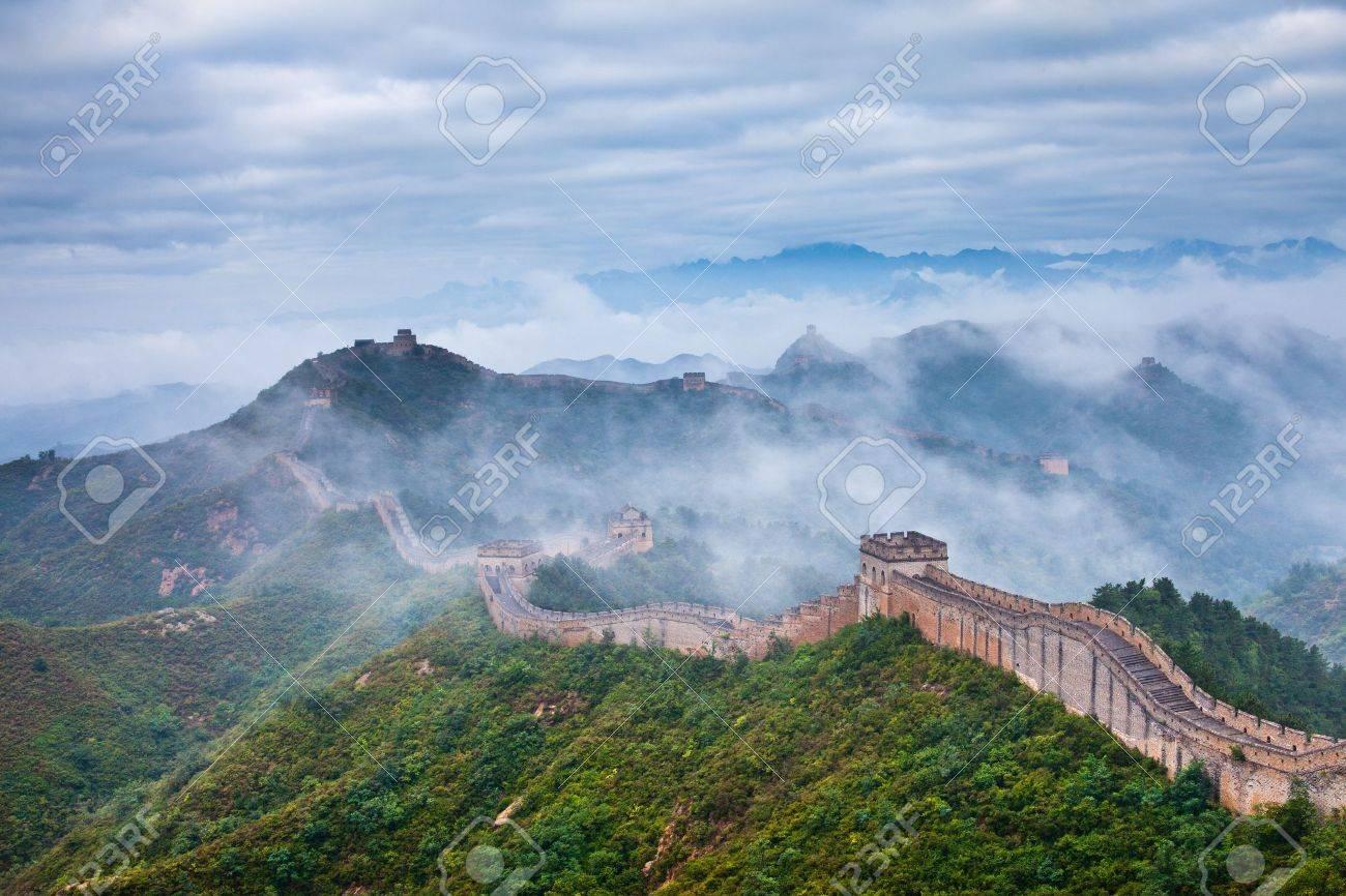 Jinshanling Great Wall of China Stock Photo - 11141642