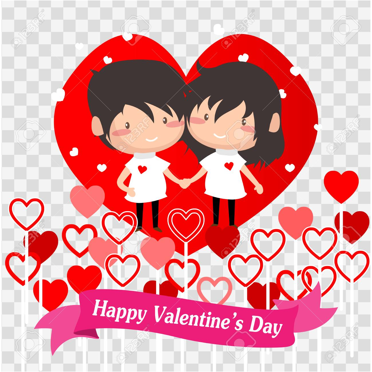 Boy And Girl Love For Valentine S Day Happy Valentine S Day