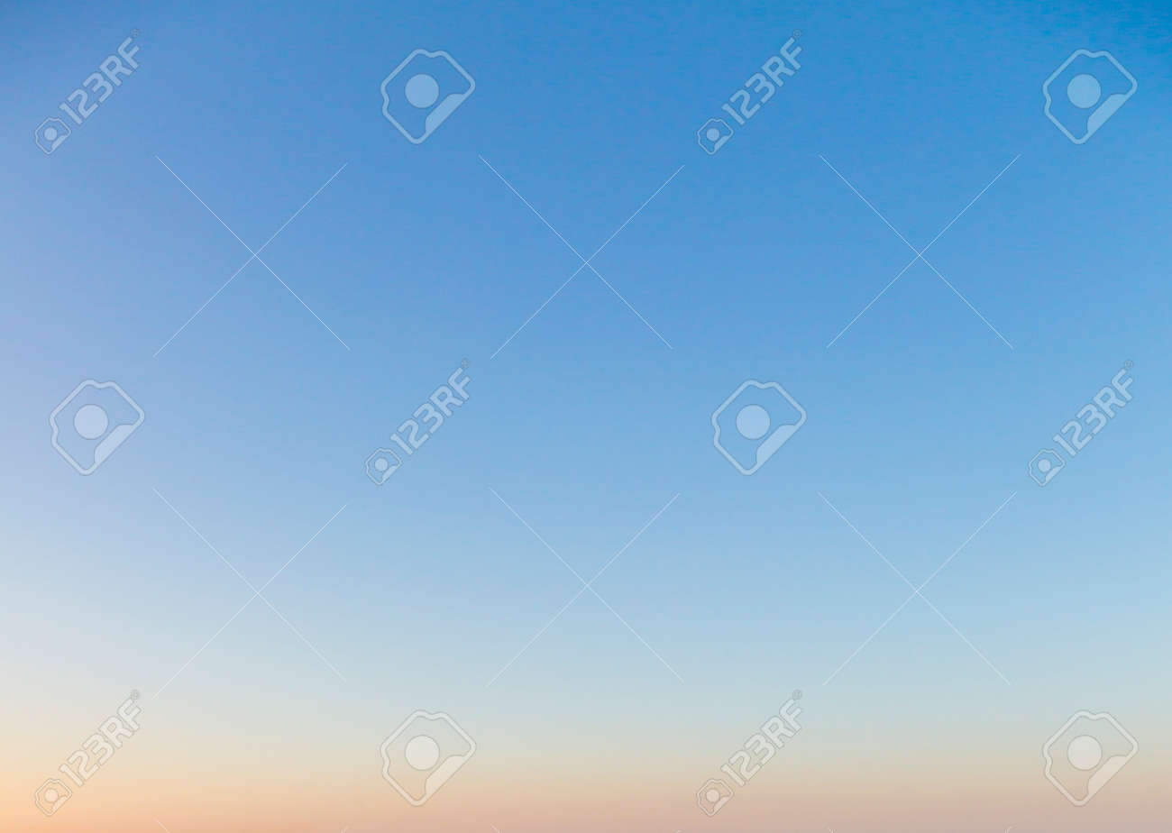 Dramatic colorful sky with afterglow and illuminated clouds at evening time - 157021719