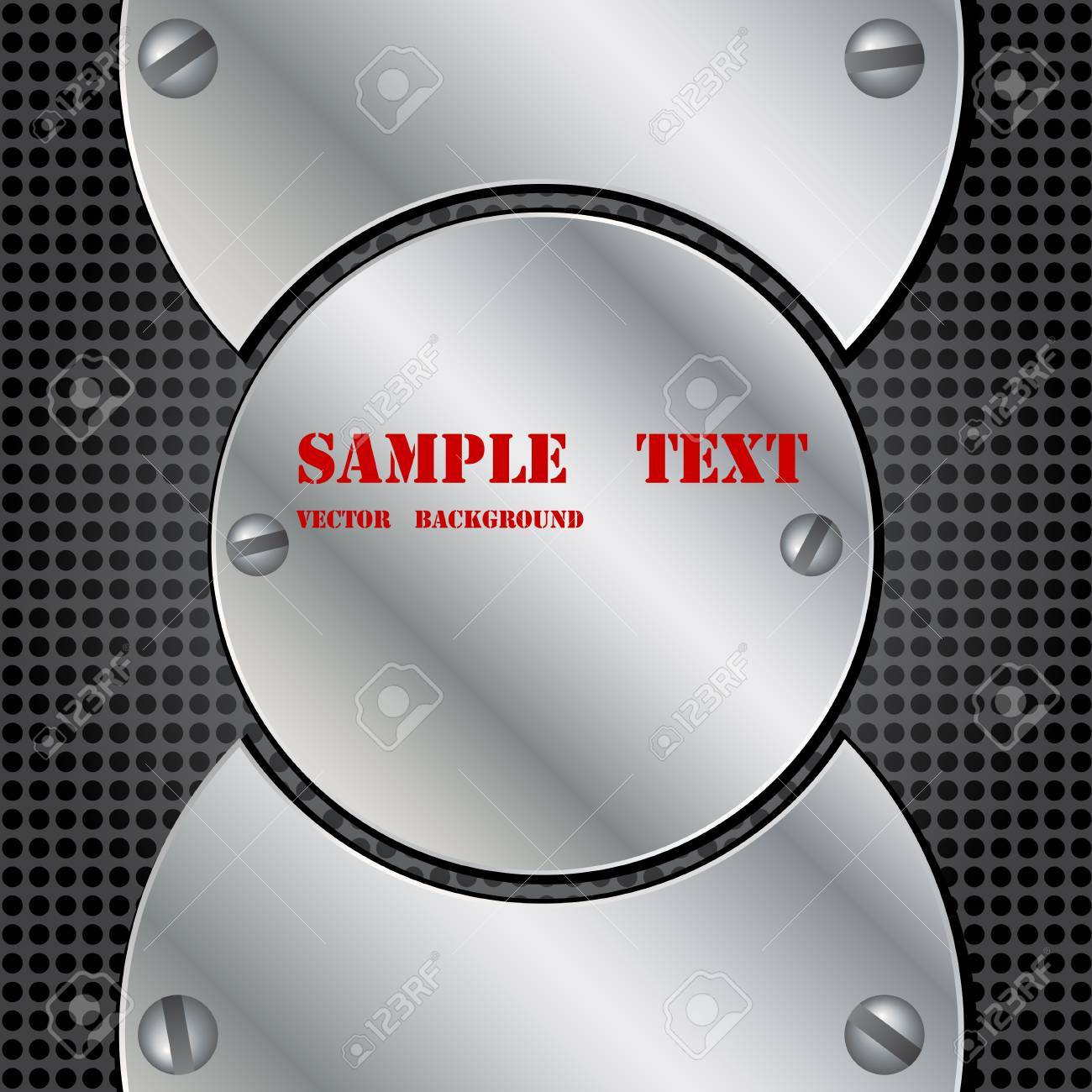 Metal background Stock Vector - 11008382