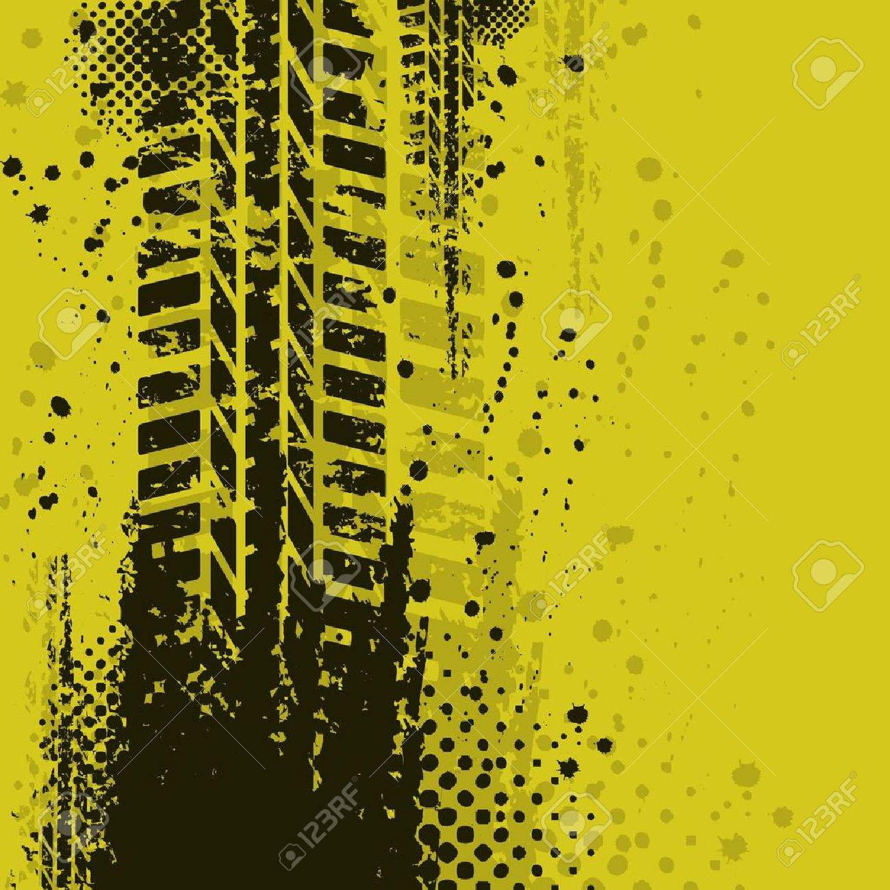 Yellow background Stock Vector - 11008388