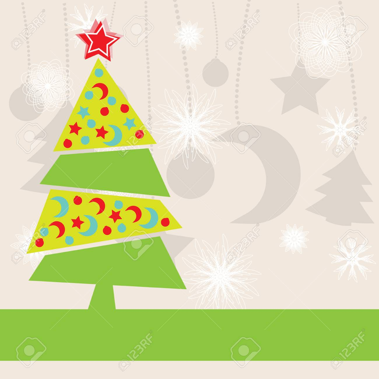 Christmas Kids Background Royalty Free Cliparts, Vectors, And Stock ...