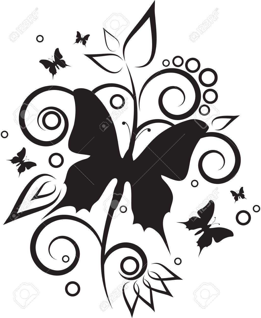 Butterfly Stock Vector - 17005545