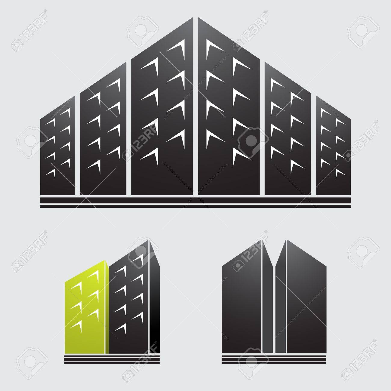 Skyscrapers Stock Vector - 17005510