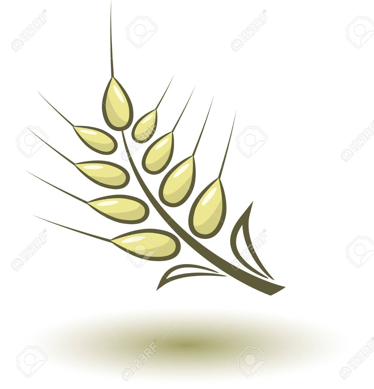 Abstract wheat Stock Vector - 17193147