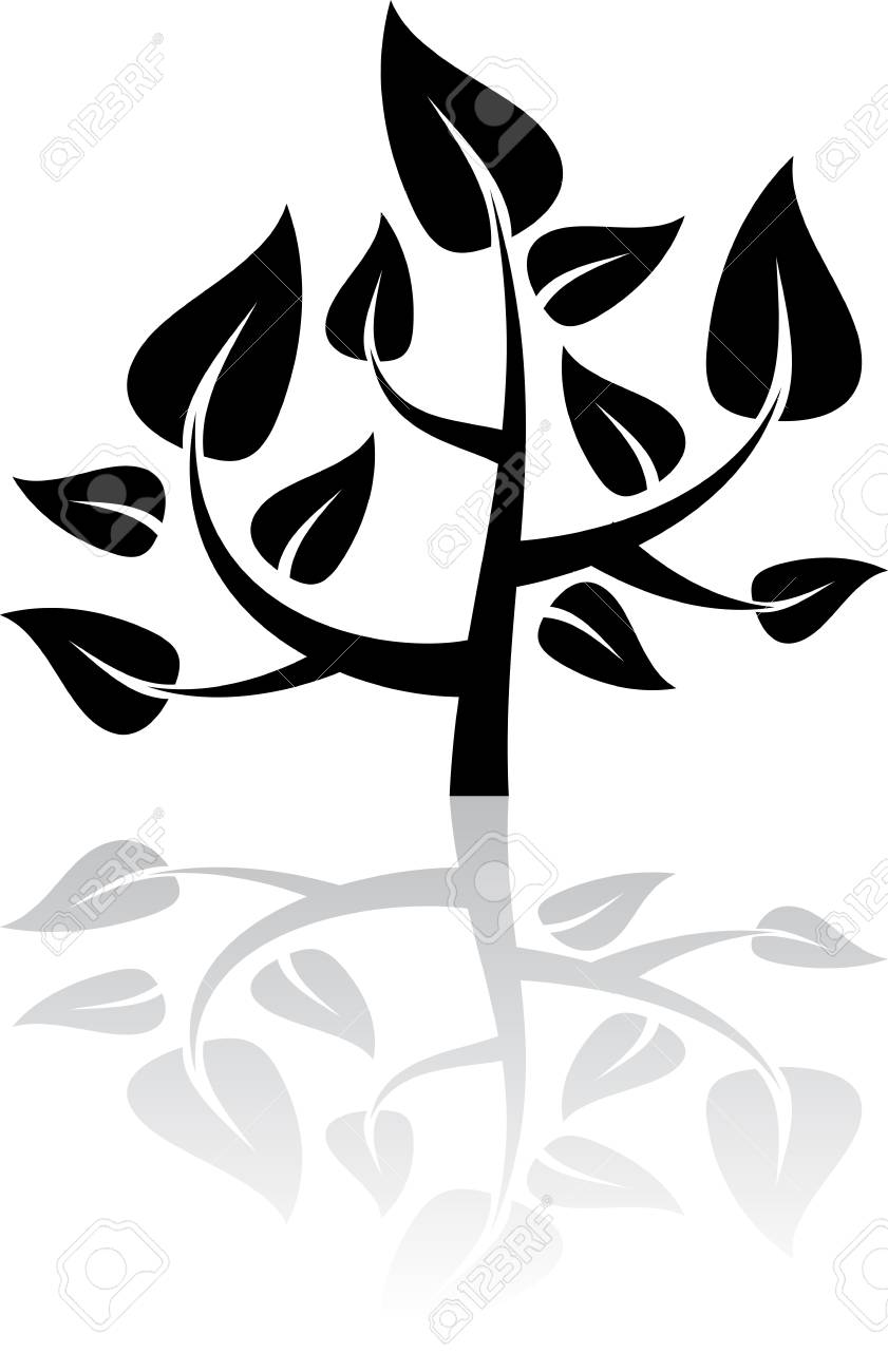 Black tree Stock Vector - 17230938