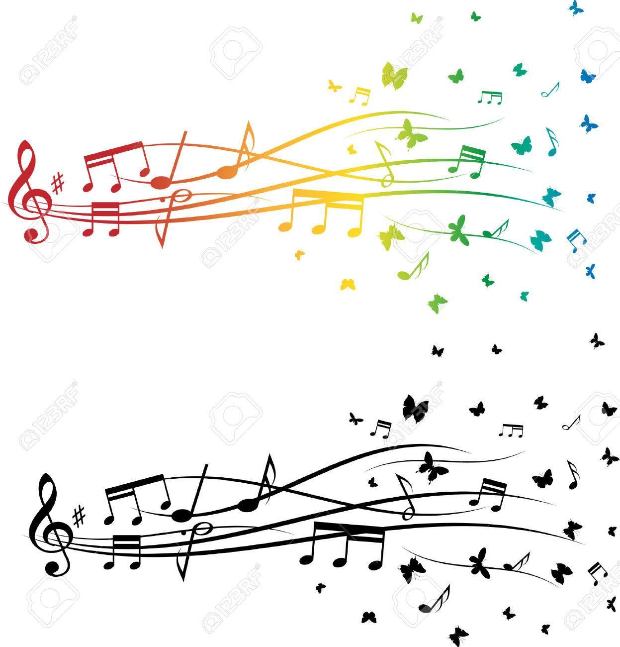 Music notes set - 31726168