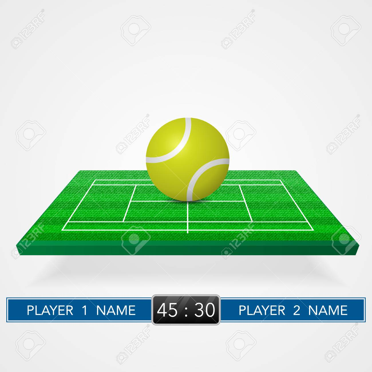Tennis Court Background Royalty Free Cliparts Vectors And Stock