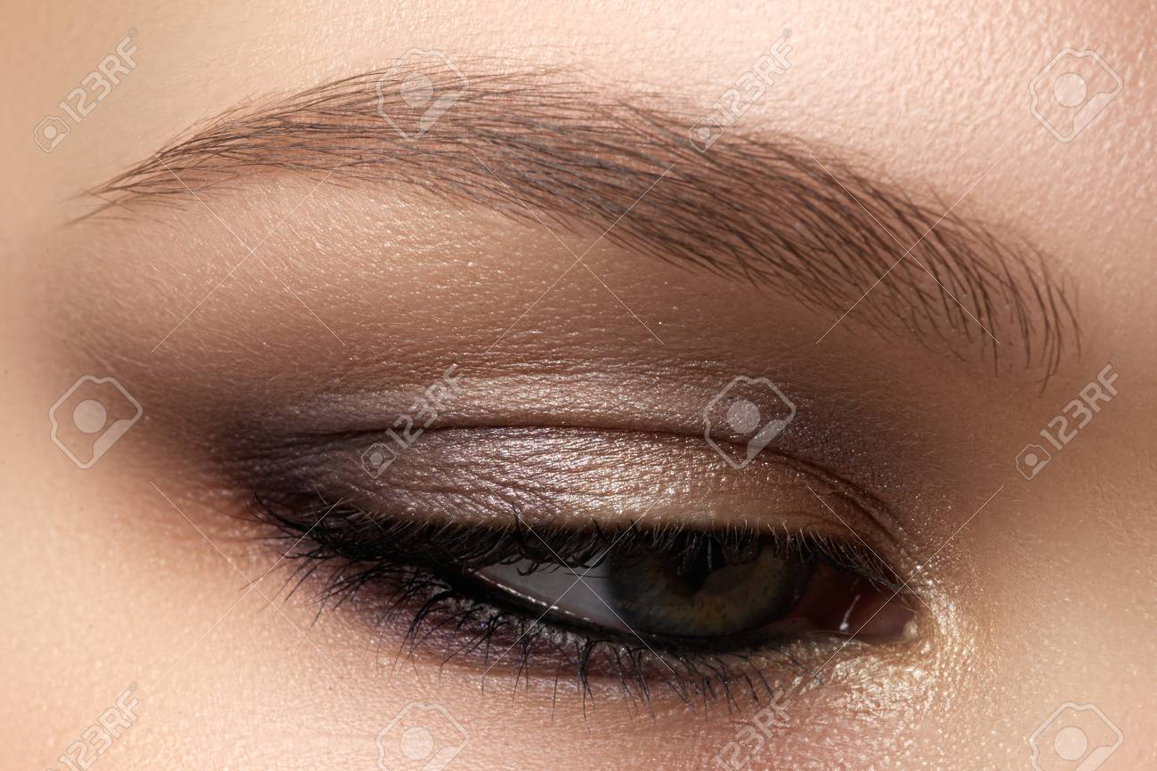 Eye Makeup Beautiful Eyes Make Up Holiday Makeup Detail Long