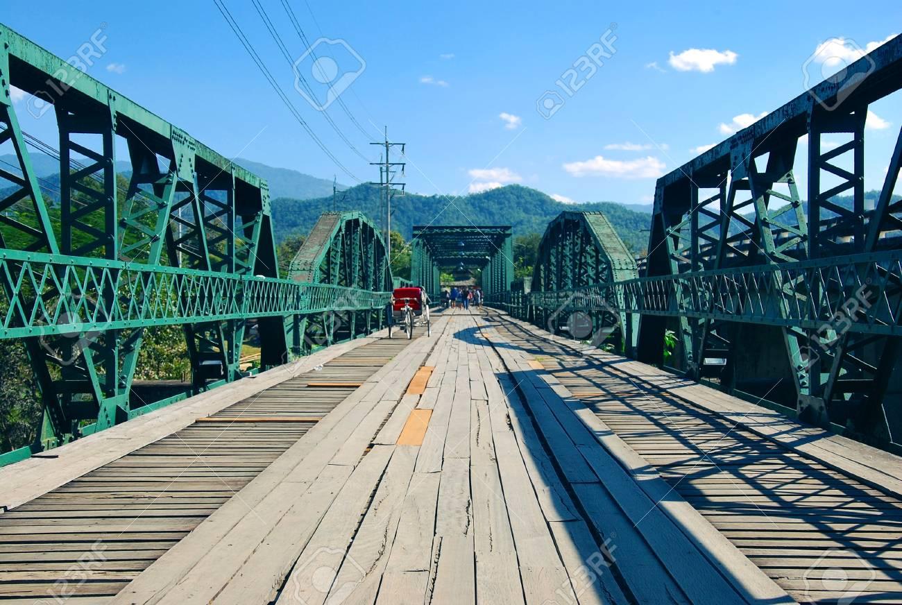 Memorial Bridge in Pai  It was built in World War II by the Japanese