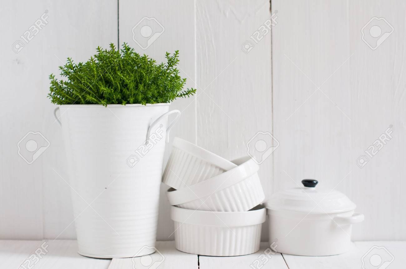 La Vie De Campagne, Cuisine De Campagne De Décoration: Une Plante ...