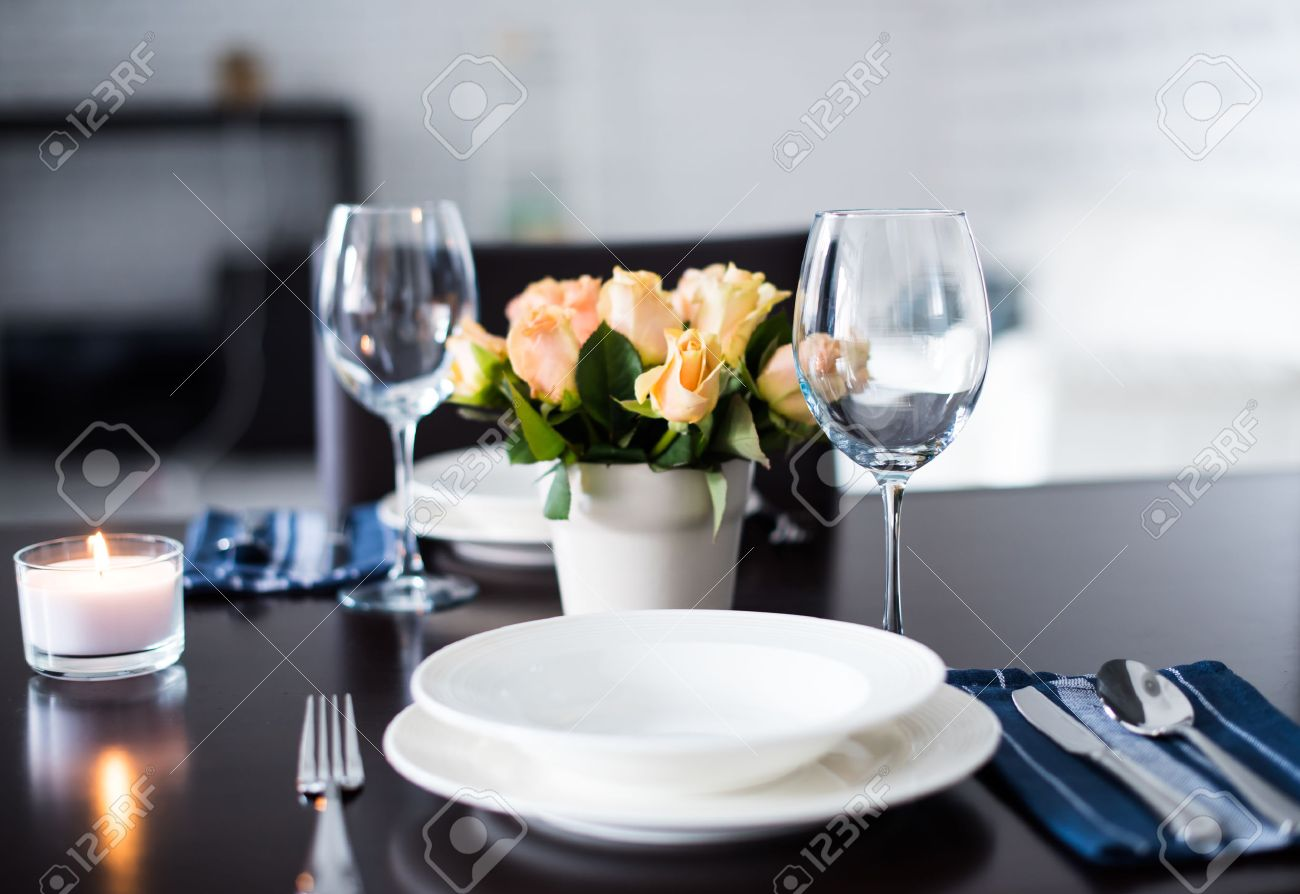 Setting A Dinner Table Dinner Table Setting Images Stock Pictures Royalty Free Dinner