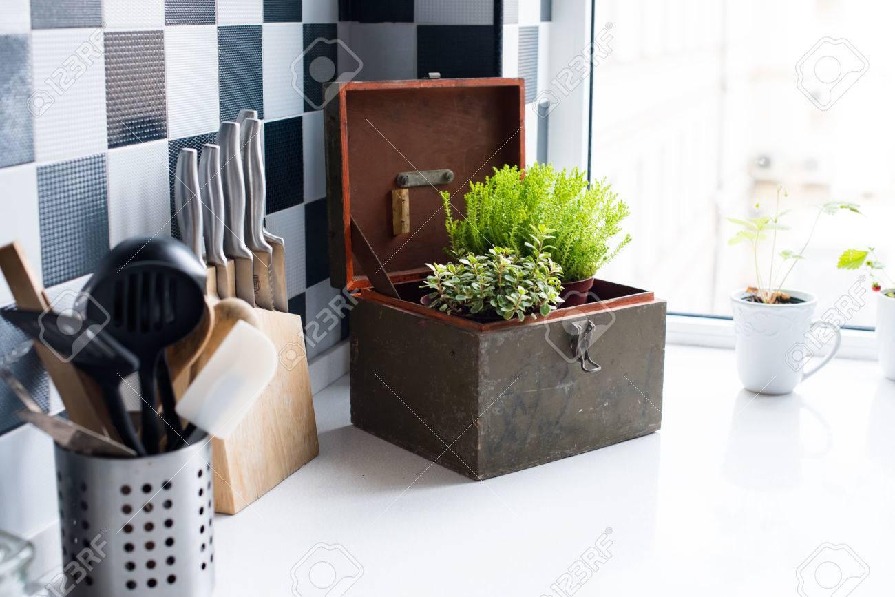 Modern Kitchen Utensils kitchen utensils, decor and kitchenware in the modern kitchen