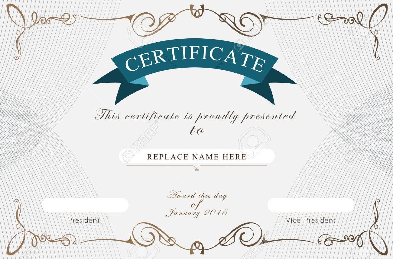 Certificate border certificate template vector illustration certificate border certificate template vector illustration stock vector 36160700 xflitez Gallery