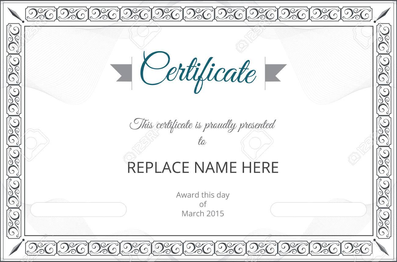 Free download certificate borders request letter for increment pay certificate template free vector gallery certificate design and 38157019 certificate border certificate template vector illustration stock xflitez Choice Image