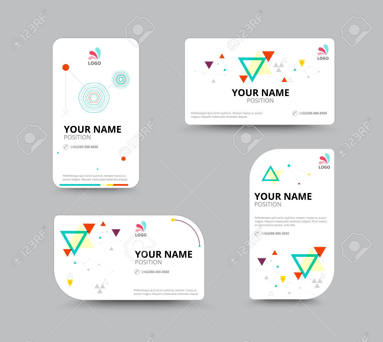 Business card template business card layout design vector business card template business card layout design vector illustration stock vector 41181506 wajeb Choice Image