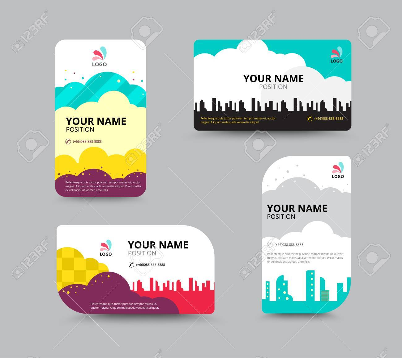 Business card template business card layout design vector business card template business card layout design vector illustration stock vector 41181547 magicingreecefo Choice Image