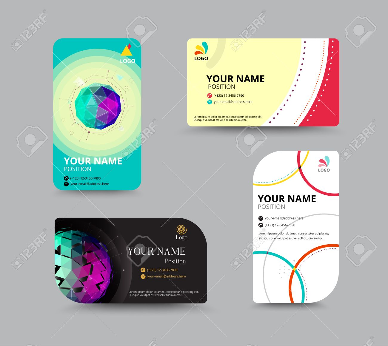layout for business cards - Gidiye.redformapolitica.co