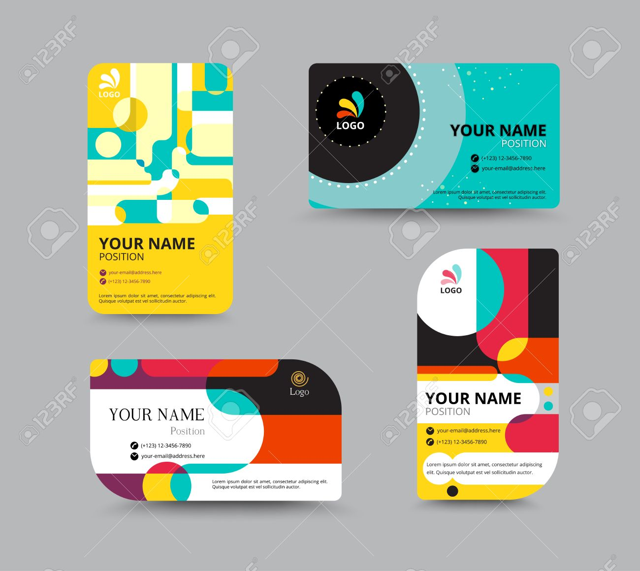 Business Card Template Name Card Design For Business Include – Name Card