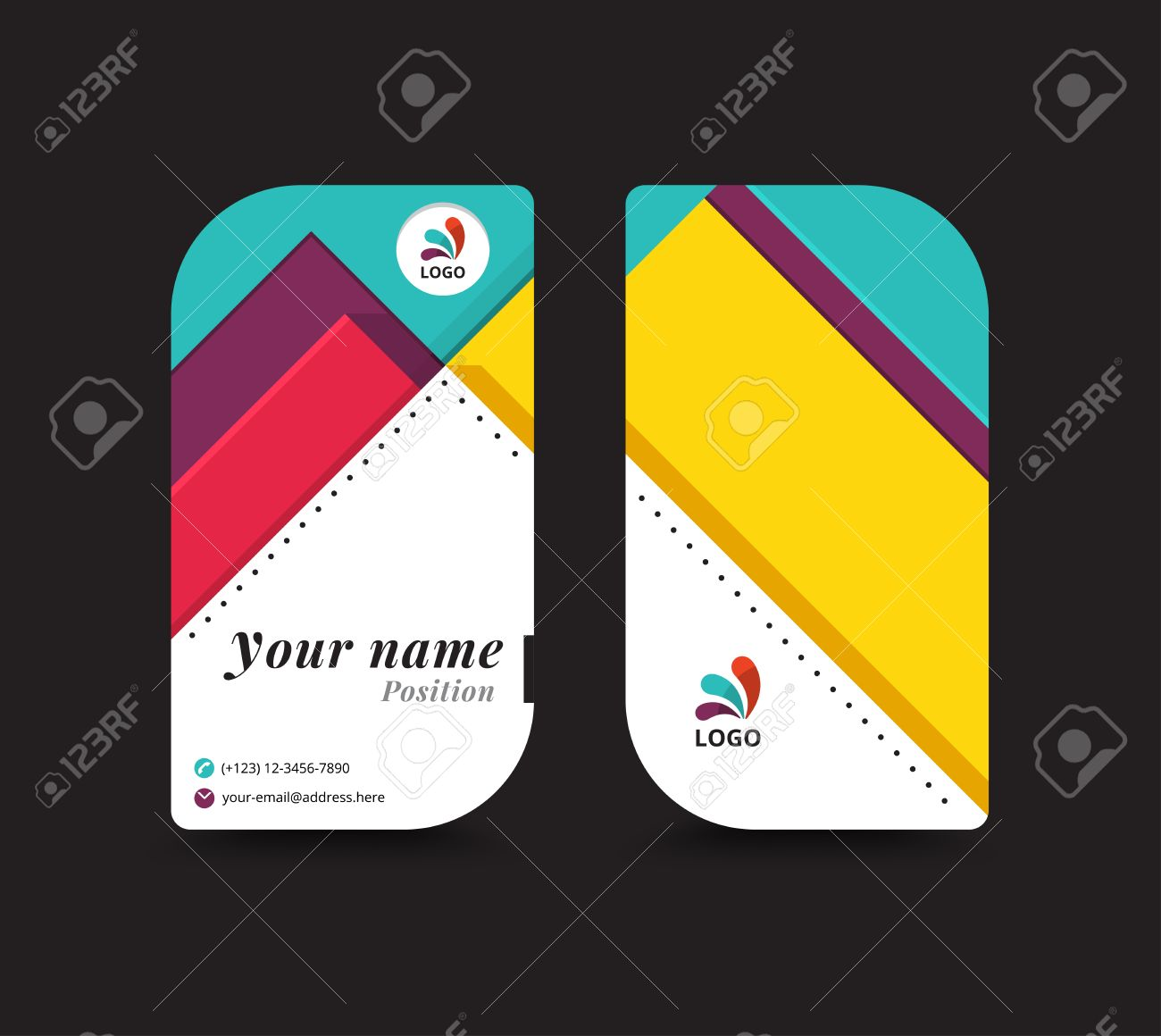 Business name card template vector illustration royalty free business name card template vector illustration stock vector 42554811 fbccfo Image collections