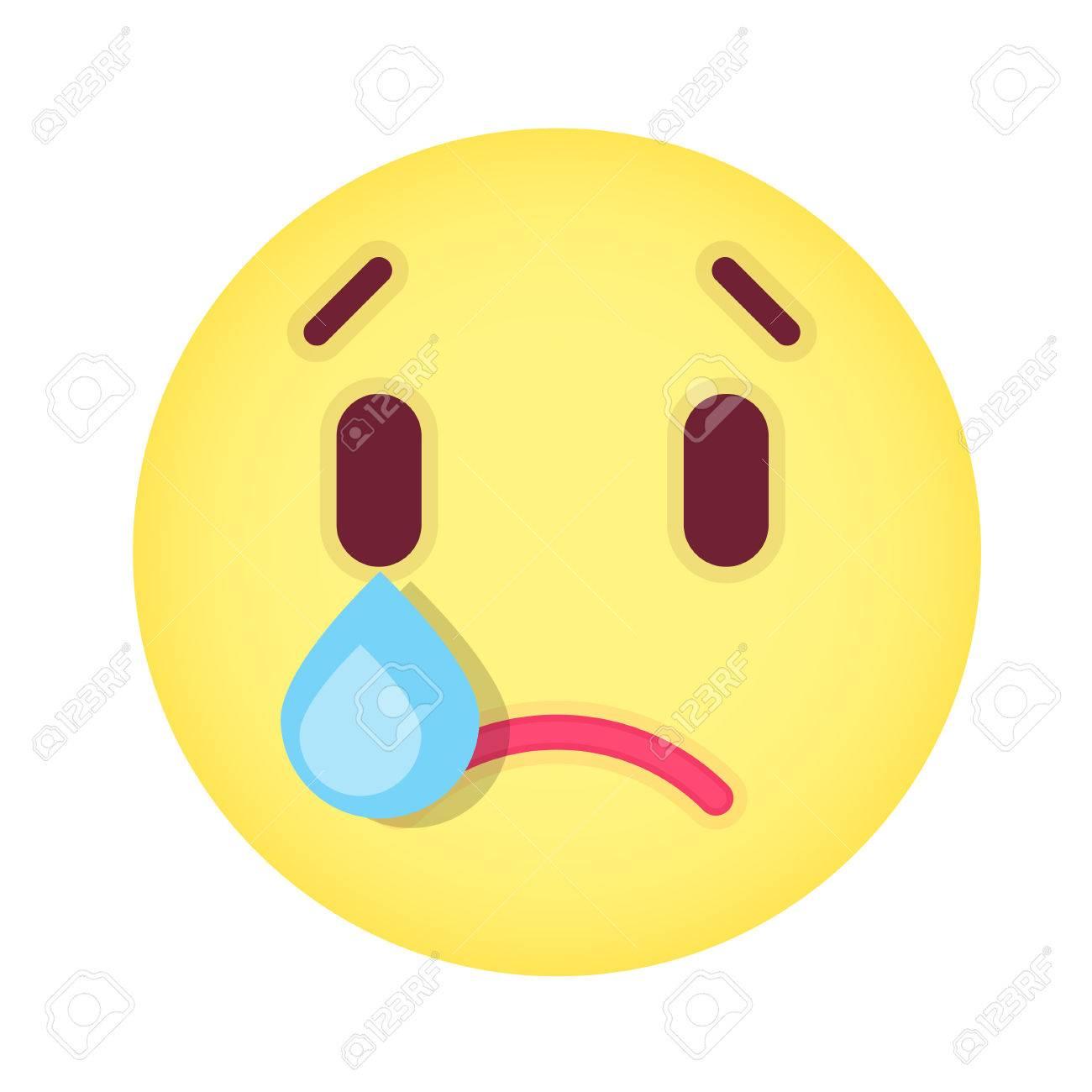 文字 泣く 顔