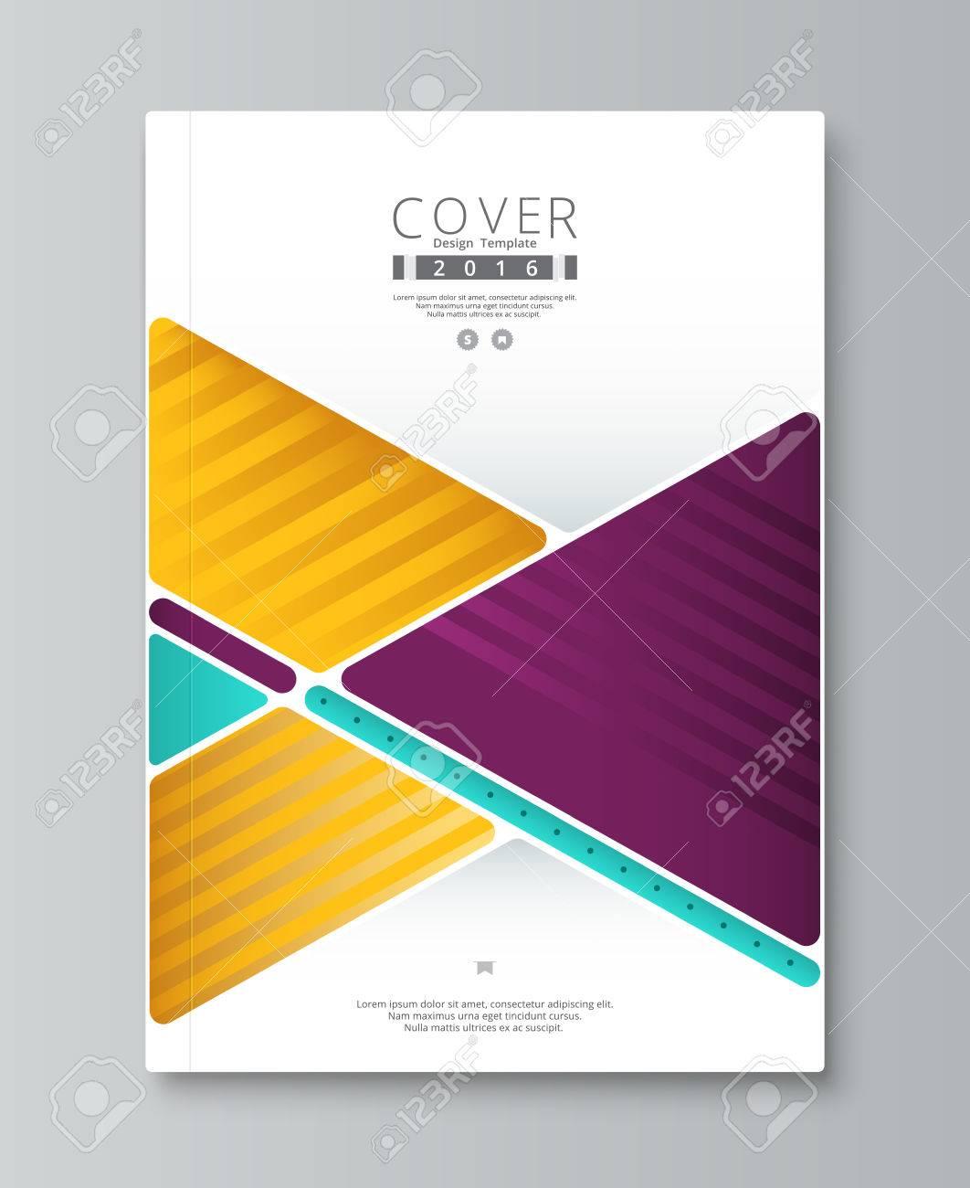Zusammenfassung Jahresbericht Cover Design Buch Broschüre Vorlage