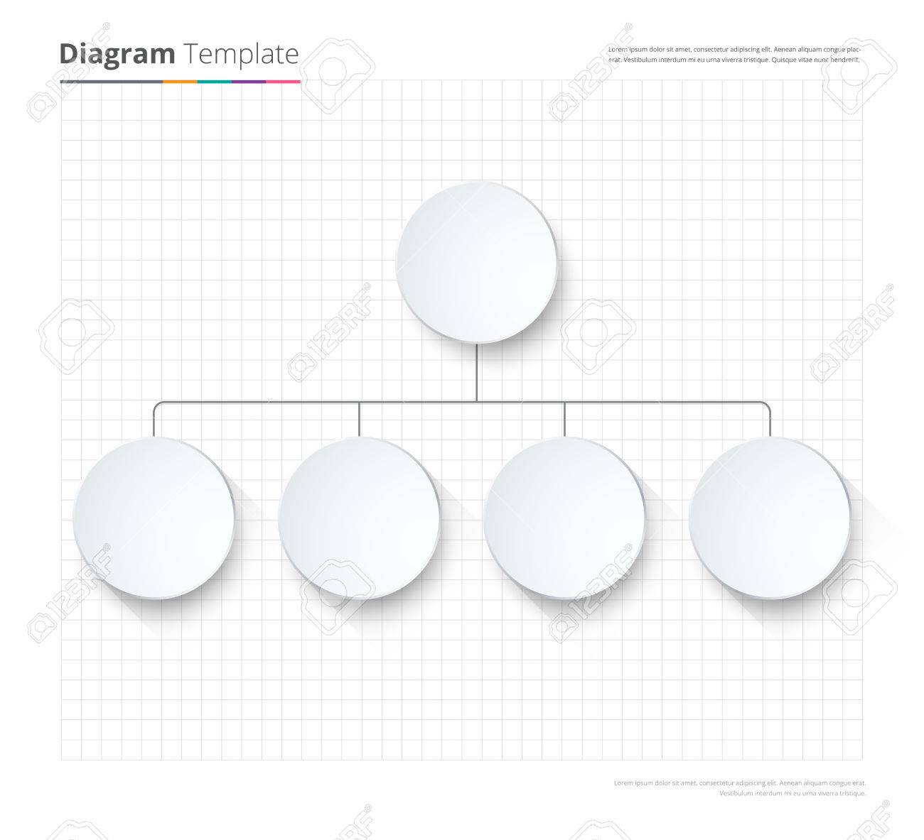 picture about Blank Chart Template called Diagram Template, Enterprise chart template. circulation template,..