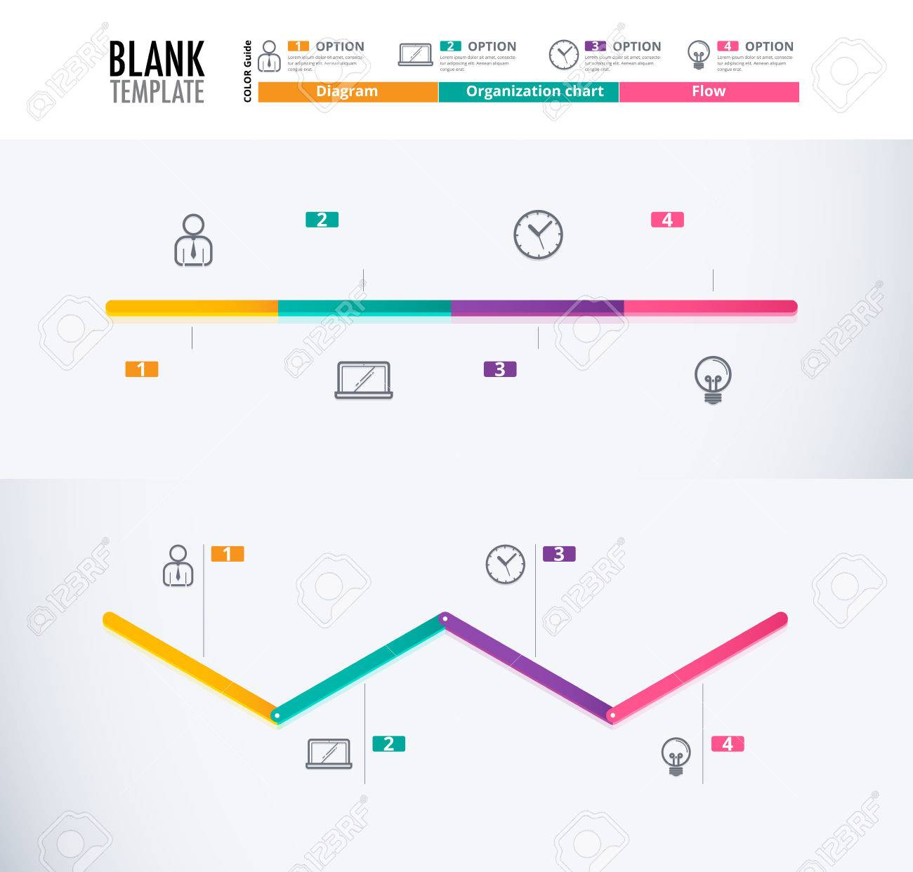 Timeline Diagram Template Timeline Infographic Design Without