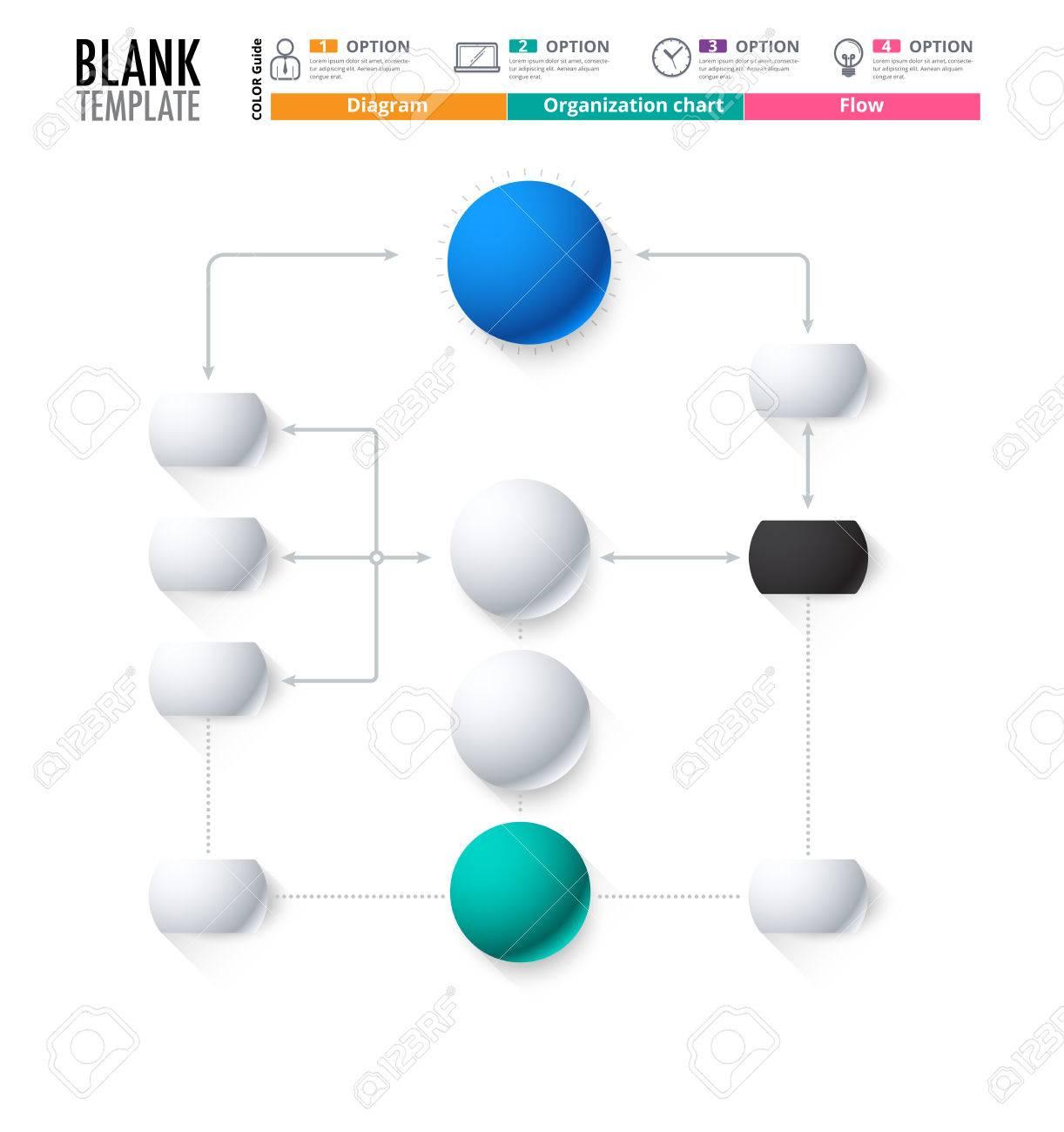 Blank Flowchart  Free Blank Flowchart Templates