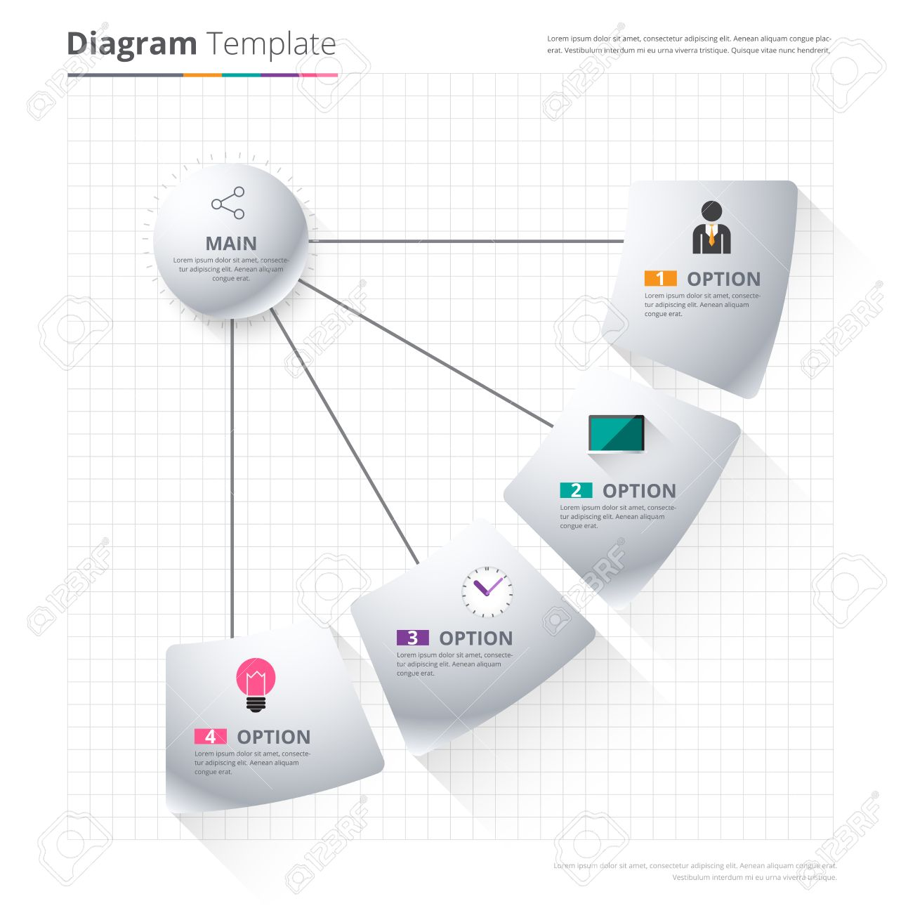 Diagram template organization chart template flow template diagram template organization chart template flow template blank diagram for replace text ccuart Image collections