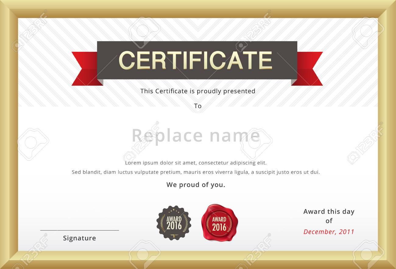 Certificate Templates Uk