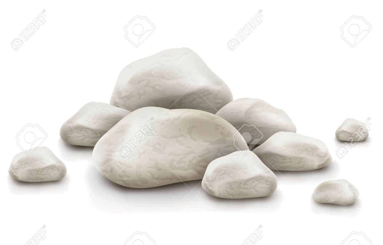pile of stone Stock Vector - 13860347