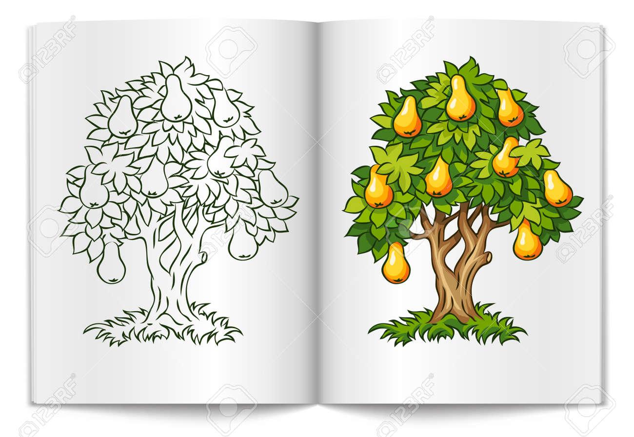 Pear Tree Clip Art