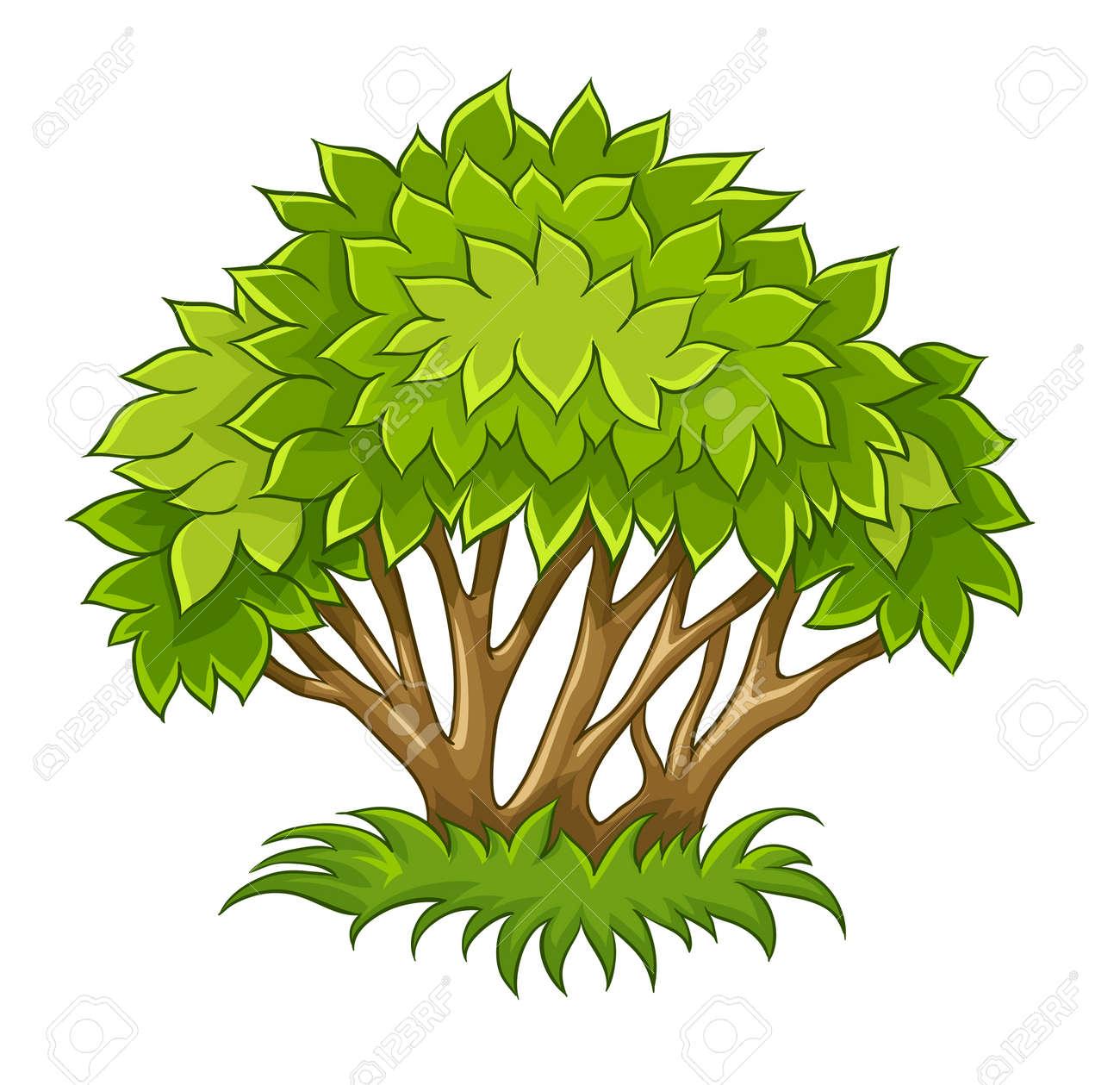 17 852 shrub stock vector illustration and royalty free shrub clipart rh 123rf com bush clipart vector shrub clip art black and white