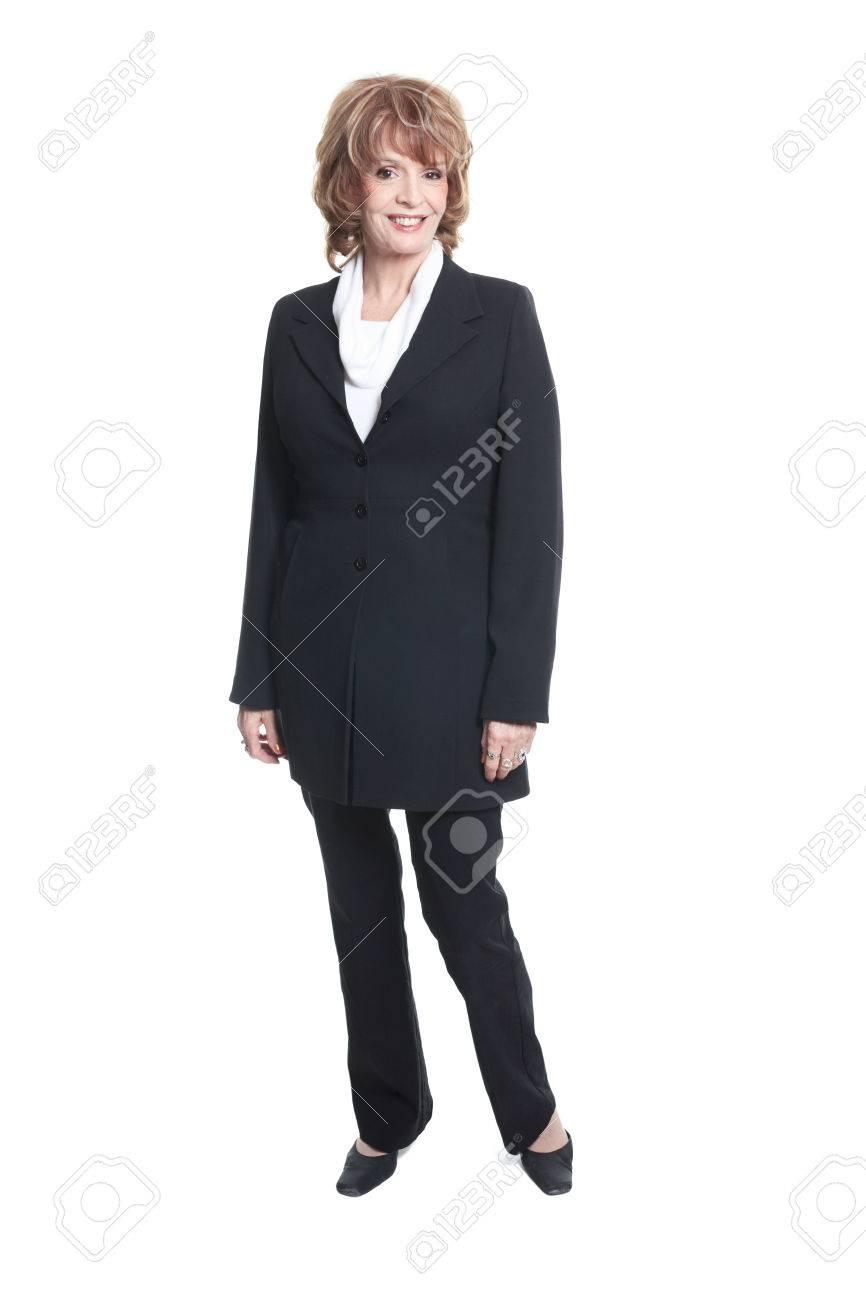 Mature business woman
