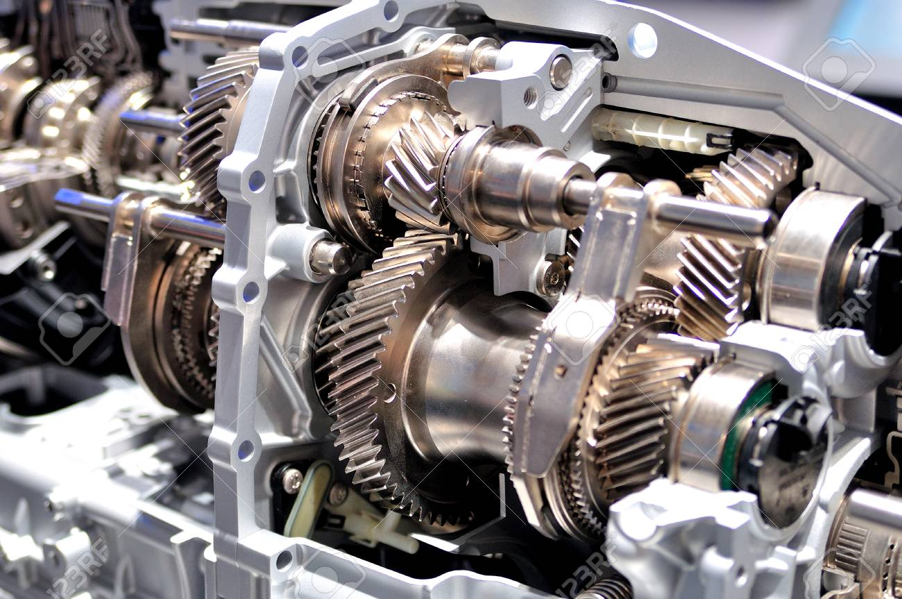 Cross Section Of A Car Gearbox Stock Photo Picture And Royalty Free Image Image 91081857