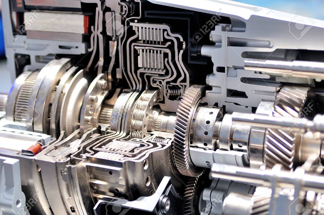 Car Gearbox Images Cross Section Of A Car Gearbox Stock Photo