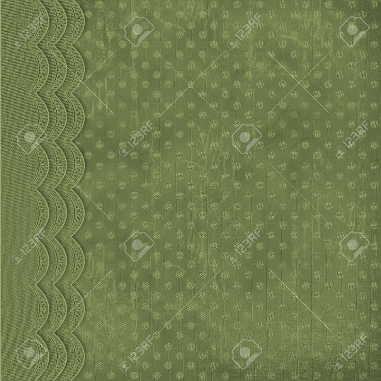 Abstract green background with circles Stock Photo - 3202949