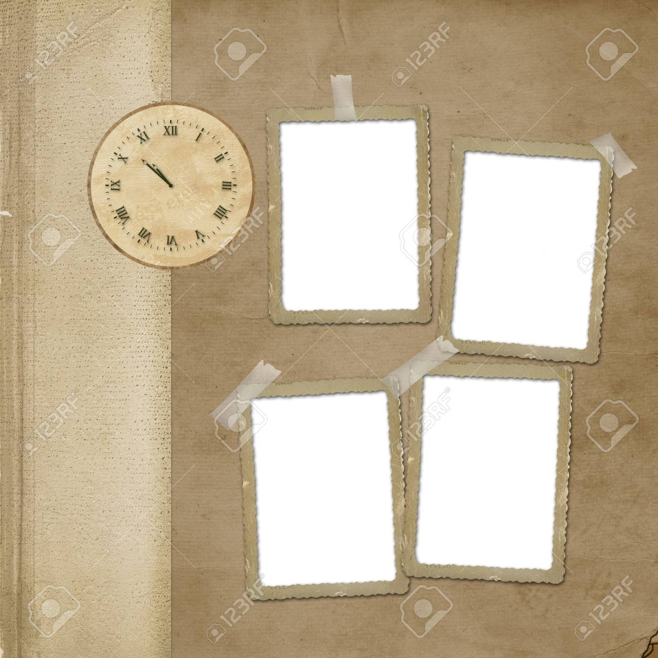 Alienated paper for announcement on the abstract background Stock Photo - 6243715