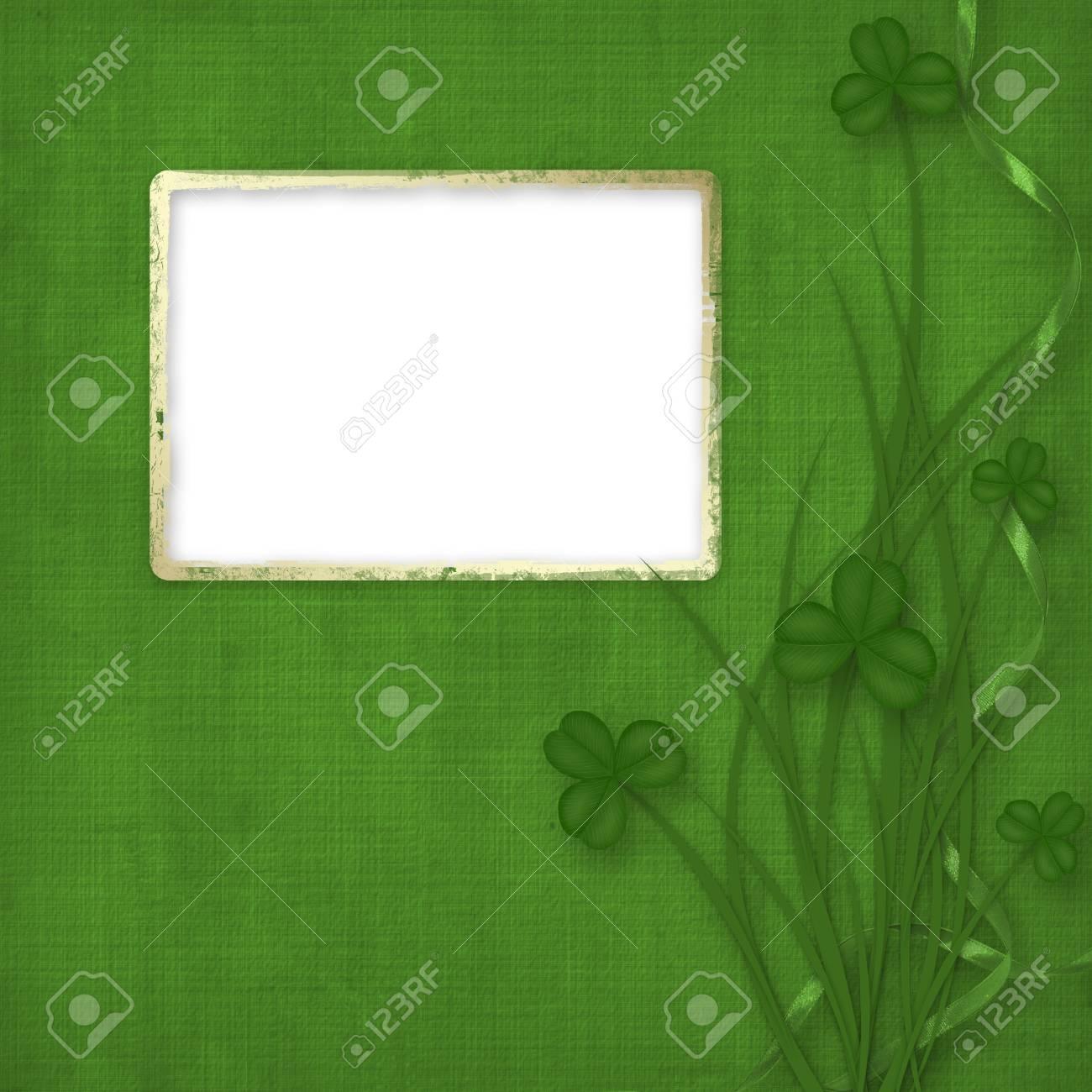 Design for St. Patrick's Day. Flower ornament. Stock Photo - 6353675